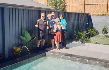 Happy Pool Owner - Bali Pools Gold Coast