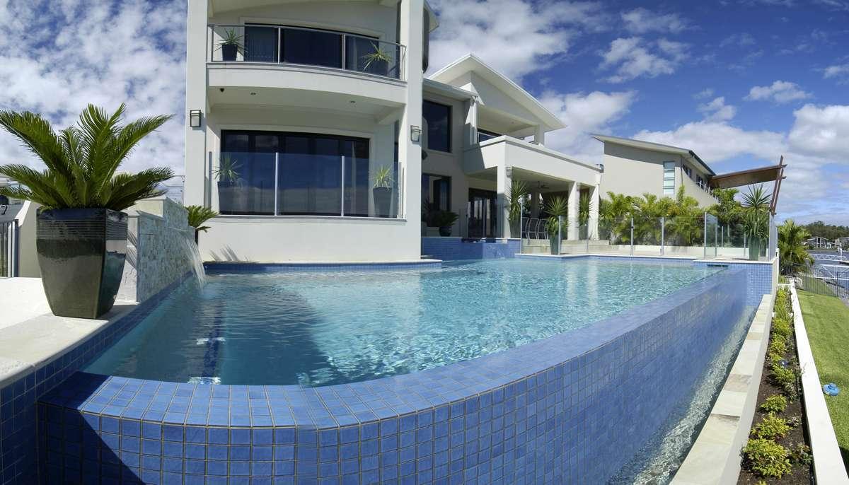 Above Ground Infinity Pools Gold Coast