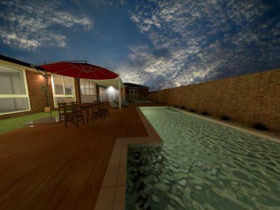 Swimming Pool 3D Design Northern Rivers