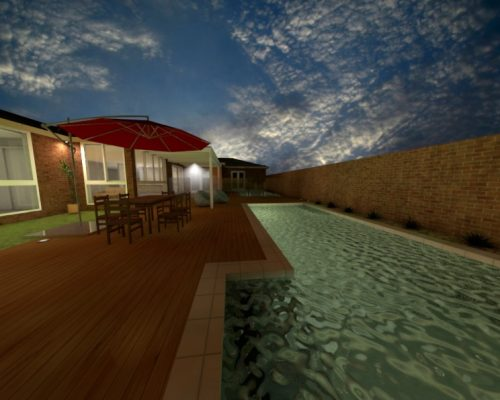 Swimming Pool 3D Design Northern Rivers