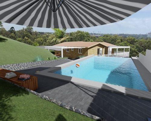 3D Pool Designs Gold Coast