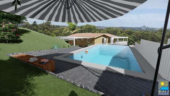 3D Pool Designs Gold Coast