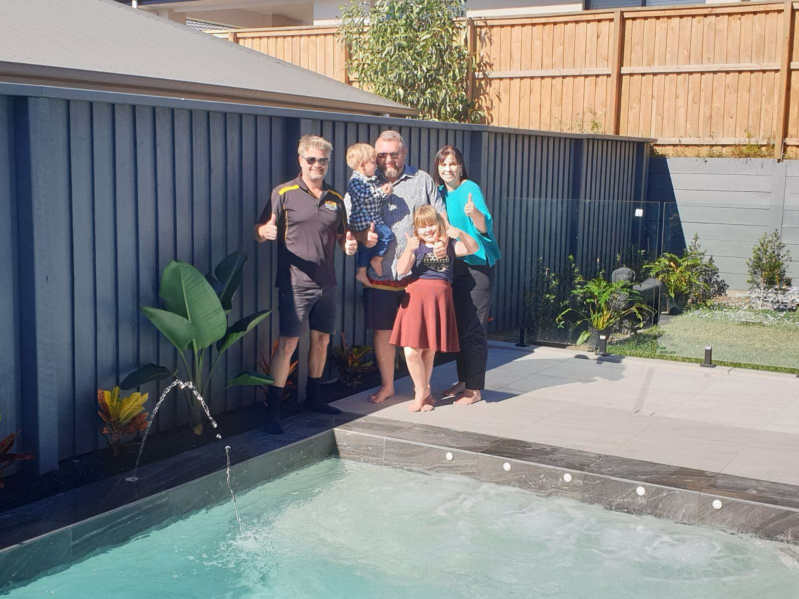 Happy Pool Owner - Bali Pools Gold Coast