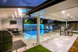 Completed Brisbane pool in Carina by Bali pool builders