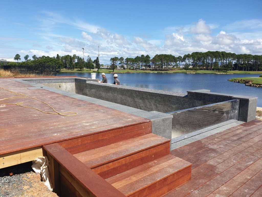 Timber Decking and Steps on the Gold Coast